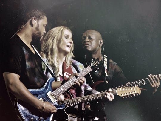 """This band just raised me up to another level,"" said Melissa Etheridge."