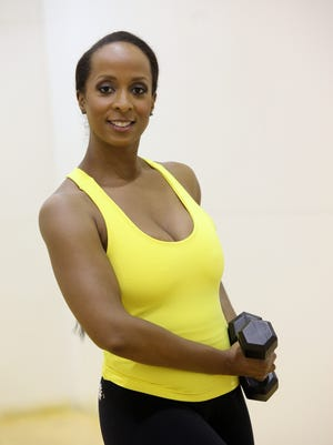 Sadari Neville is a personal trainer at the JCC of Mid-Westchester in Scarsdale.