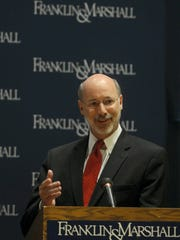 Gov. Tom Wolf, seen in this file photo, is running for re-election.