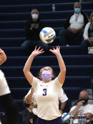 Bronson senior setter Meagan Lasky earned her third straight All-State honor, this year earning MIVCA Division Three All State First Team honors.