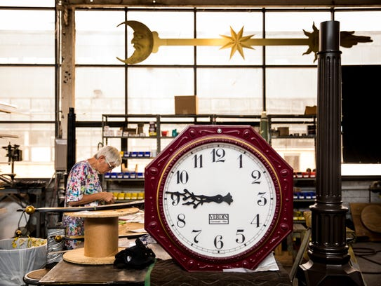 The Verdin bell and clock company started when two