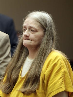 Ramona Bostian appeared with attorney Scott Blauvelt in court Monday.