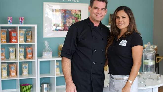 Edward and Iovana Johnson are owners of Popped Perfections Gourmet Popcorn in Titusville.