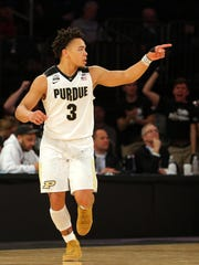 Mar 3, 2018; New York, NY, USA; Purdue Boilermakers
