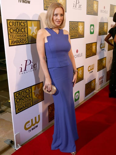 Actress Wendi McLendon-Covey attends the 4th Annual Critics' Choice Television Awards at The Beverly Hilton Hotel on June 19, 2014, in Beverly Hills, Calif.