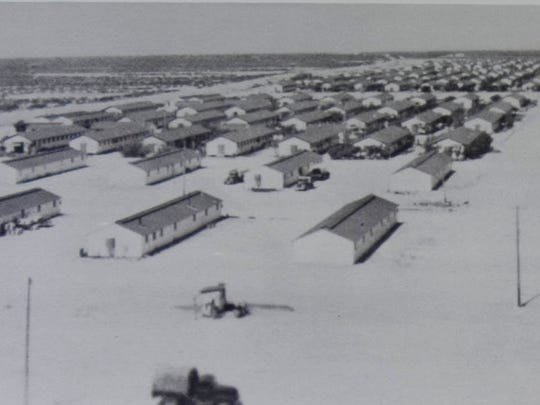 In 1942 , two Japanese internment camps were established