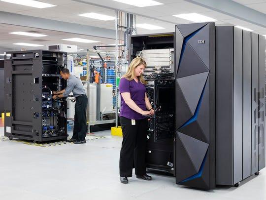 In this undated photo, IBM distinguished engineer Karl