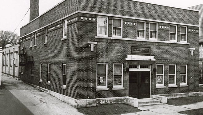 The former Danke Dairy at 211 S. Commercial St., Neenah, was purchased by the Boys' Brigade in 1928, shown here in 1950. In 1938 a gymnasium was added to the building. The gymnasium was razed and the Danke building was remodeled in 1956.
