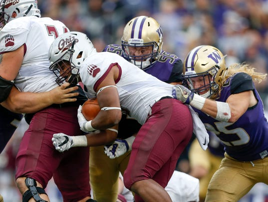 NCAA Football: Montana at Washington
