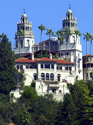 """""""La Cuesta Encantada,"""" The Enchanted Hill, the legendary home now best known as Hearst Castle, built by publishing tycoon William Randolph Hearst in San Simeon, California on Sept. 28, 2001."""
