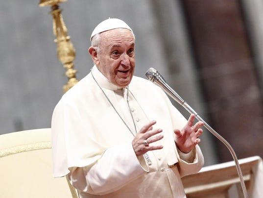 EPA VATICAN POPE REL CHURCHES (ORGANISATIONS) ITA