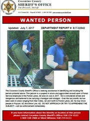 Updated pictures of the arson and assault suspect in