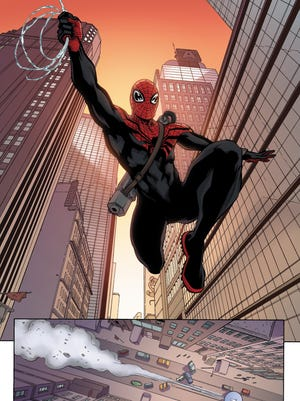 Spider-Man gets animated.