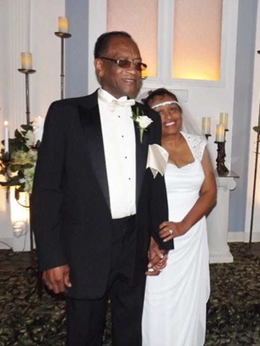 Weddings: Jackie Collins & Sundae Woodson