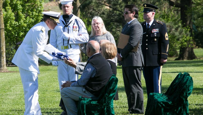 The funeral for Lt. William Q. Punnell of Flandreau, S.D. was held May 2, 2018 at Arlington National Cemetery.  Punnell's remains were  found by Project Recover nearly 75 years after he was shot down in the Pacific.