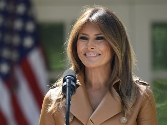 AP MELANIA TRUMP A FILE USA DC