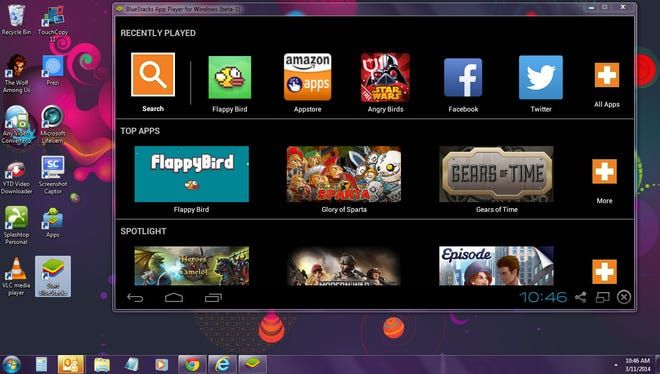 Bluestacks' free App Player lets you run all your favorite Android games, and other Google Play apps, on your PC or Mac.