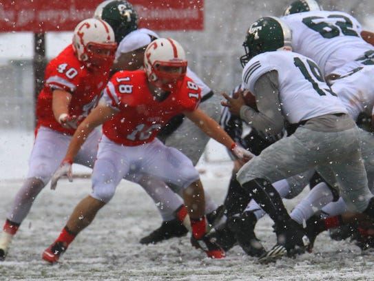 Cass Tech sophomore quarterback Aaron Jackson (No.