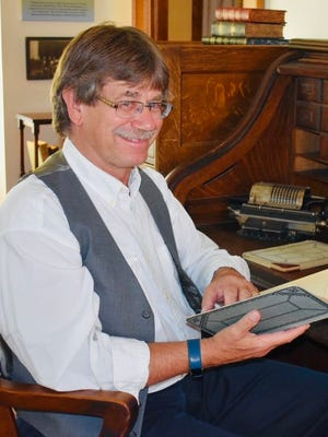 Mayor Dave Smiglewski enjoying a visit to the local Volstead House Museum in Granite Falls.