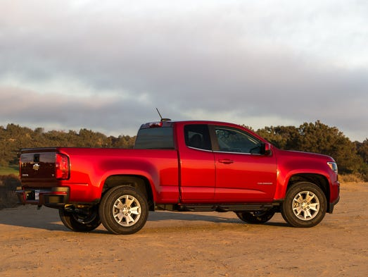 chevrolet colorado takes fuel economy crown from ram. Black Bedroom Furniture Sets. Home Design Ideas