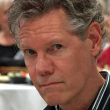 Country music singer Randy Travis appeared at a charity banquet in Denison on September 18, 2014.