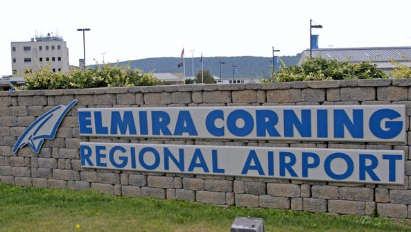 United Airlines will discontinue service at the Elmira