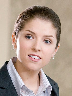 """Anna Kendrick plays a smart but inexperienced corporate downsizer in """"Up in the Air."""""""