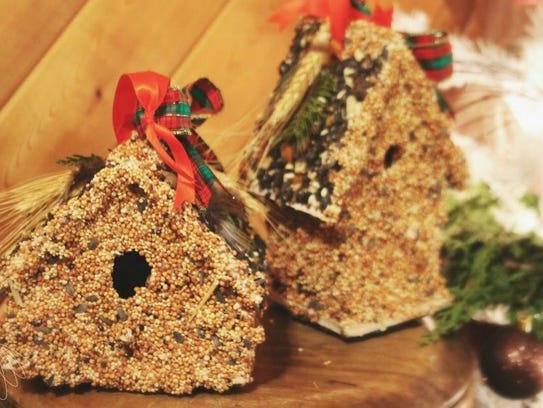 An edible birdhouse workshop will be offered at Urban