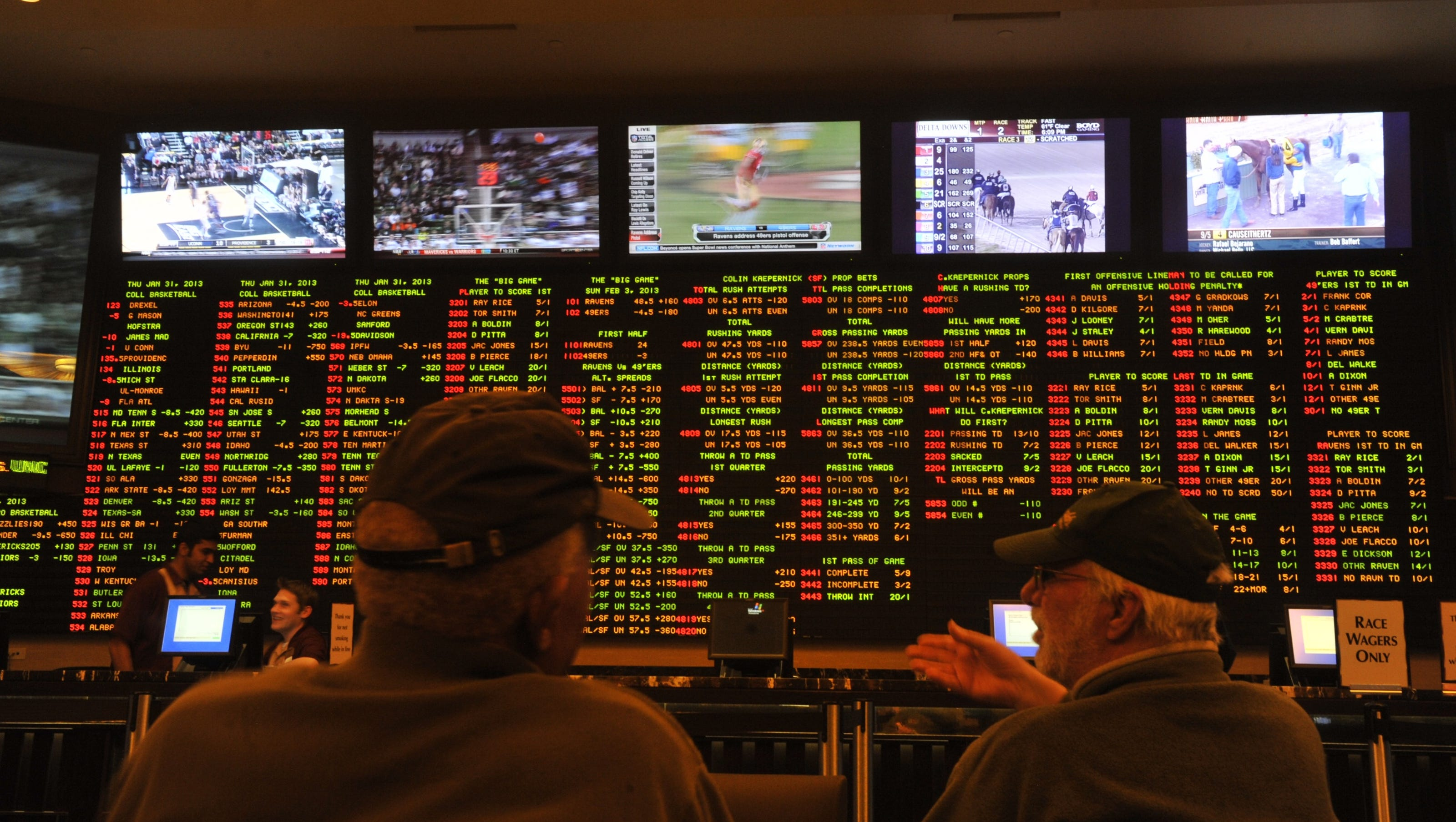 Nj sports gambling websites