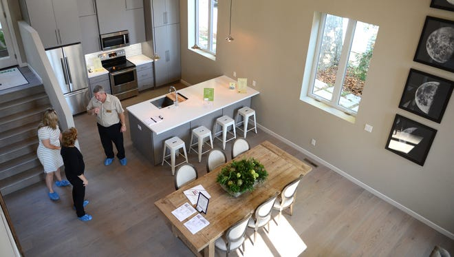 A home from last year's Brown County Homebuilders Association Fall Showcase of New Homes tour.