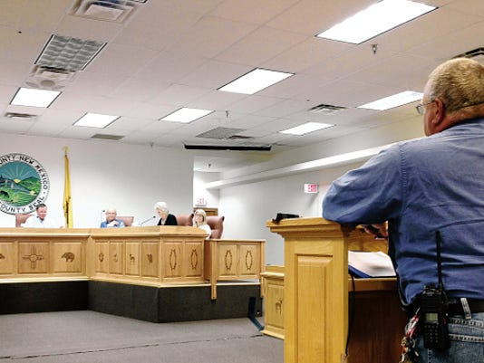 The Grant County Commissioners held their work session on Tuesday in Silver City, Randal Seyler - Sun-News