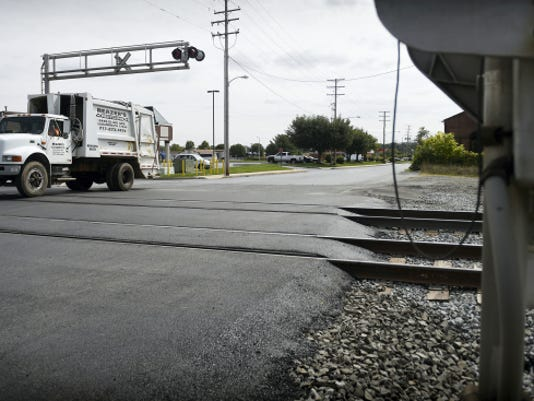 Michael K. Dakota — Lebanon Daily News The Eighth Avenue Norfolk Southern railroad crossing is again open after a one week closure to repair the road.