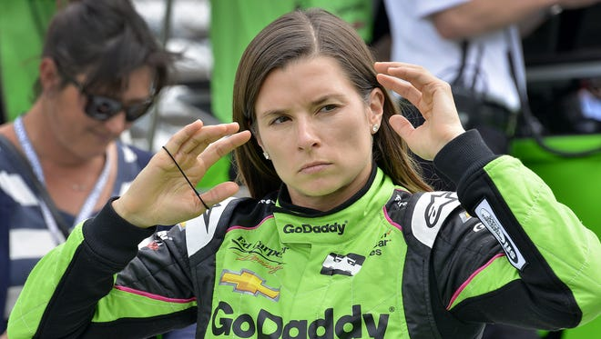 Ed Carpenter Racing IndyCar driver Danica Patrick (13) during practice for the Indianapolis 500 at the Indianapolis Motor Speedway on Tuesday, May 15, 2018.