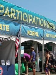 The interactive Participation Row social action village