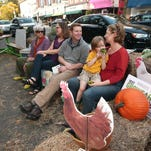 Grow It Green Morristown turns a Parking Spot on South Street into a PARK(ing) Space, kicking off its community-wide Grow Early Capital Campaign with PARK(ing) Day  October 17, 2014, Morristown.