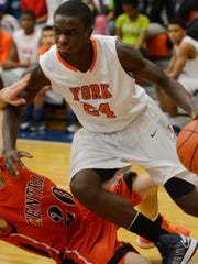 William Penn's Tavon Parker scored 10 points Friday as the Bearcats took down South Western in a YAIAA Division I clash. (Daily Record/Sunday News -- Kate Penn)