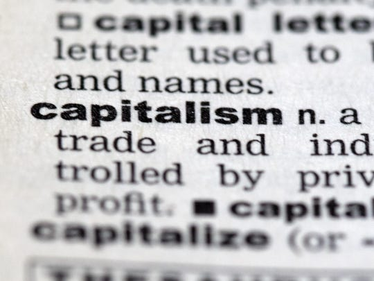 Capitalism in the dictionary