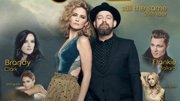 The country music duo Sugarland is performing at the Premier Center in August.