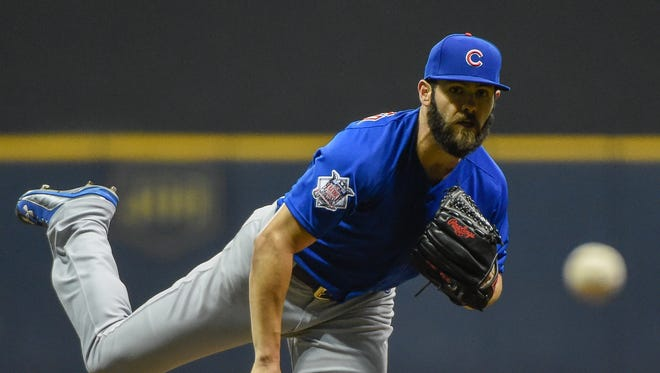 In five starts vs. Pittsburgh, Jake Arrieta had a 3-1 record and an 0.75 ERA.