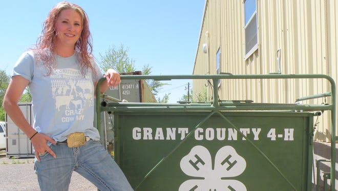 Jessica Swapp began her job as the New Mexico State University Grant County Extension Service Agriculture and 4-H Agent.