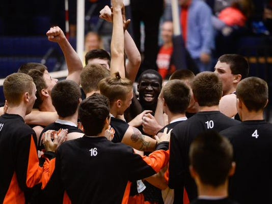 The Central York Panthers completed a thrilling comeback with a 3-2 victory over Penn Manor in Friday's District 3 Class AAA championship.