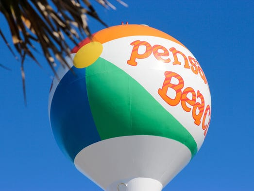 The lively Pensacola Beach caters to families and some
