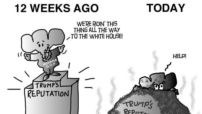 Trump's reputation