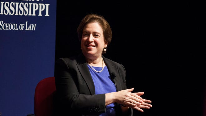 Supreme Court Justice Elena Kagan criticized the government's deportation policies.