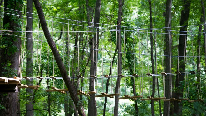 Go Ape at Lums Pond remains closed after the death of a Felton woman when she fell to her death.