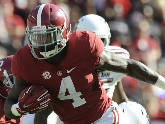 T.J. Yeldon ranks fifth all-time in rushing yards at