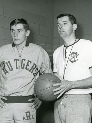 Bill Foster (right) with Bob Lloyd.