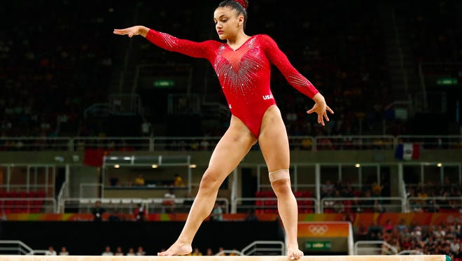 In taking silver on the beam, Laurie Hernandez served notice for Tokyo