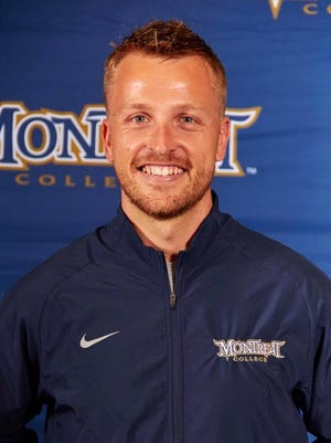 Britten Olinger is the head coach of the Montreat College men's and women's track team. He was in a vehicle crash Feb. 27.
