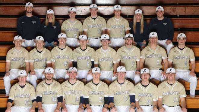 The Lancaster baseball team won a share of the Ohio Capital Conference-Ohio Division. It marks the first time ever the Gales have won an OCC title in baseball.